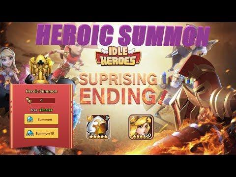 INSANE LUCK: Heroic Summon Edition!?!?