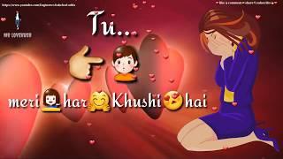 ❤ Tu meri Zindagi hai ❤ New Best Heart touching love WhatsApp status video ❤