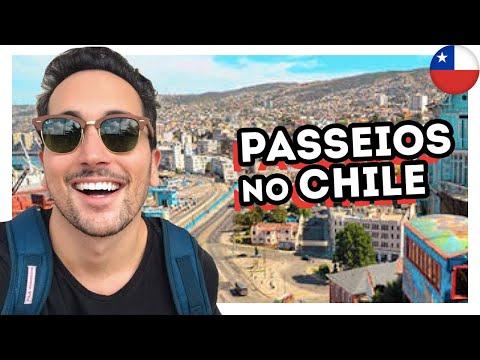 O QUE FAZER EM VALPARAÍSO E VIÑA DEL MAR? PASSEIOS no CHILE - VLOG #3 ESTEVAM PELO MUNDO