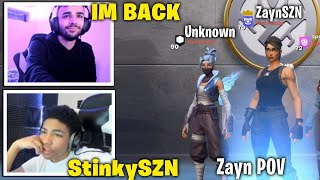 Unknown &  ZaynSZN TEAMS UP & Dominates In 2v2 Zone Wars Wagers! (Fortnite)