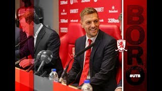 Jonathan Woodgate Unveiled As Boro Head Coach - Media Conference