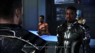 Mass Effect 3 Джейкоб и Шепард