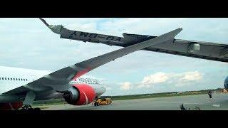 В Шереметьево столкнулись два самолета