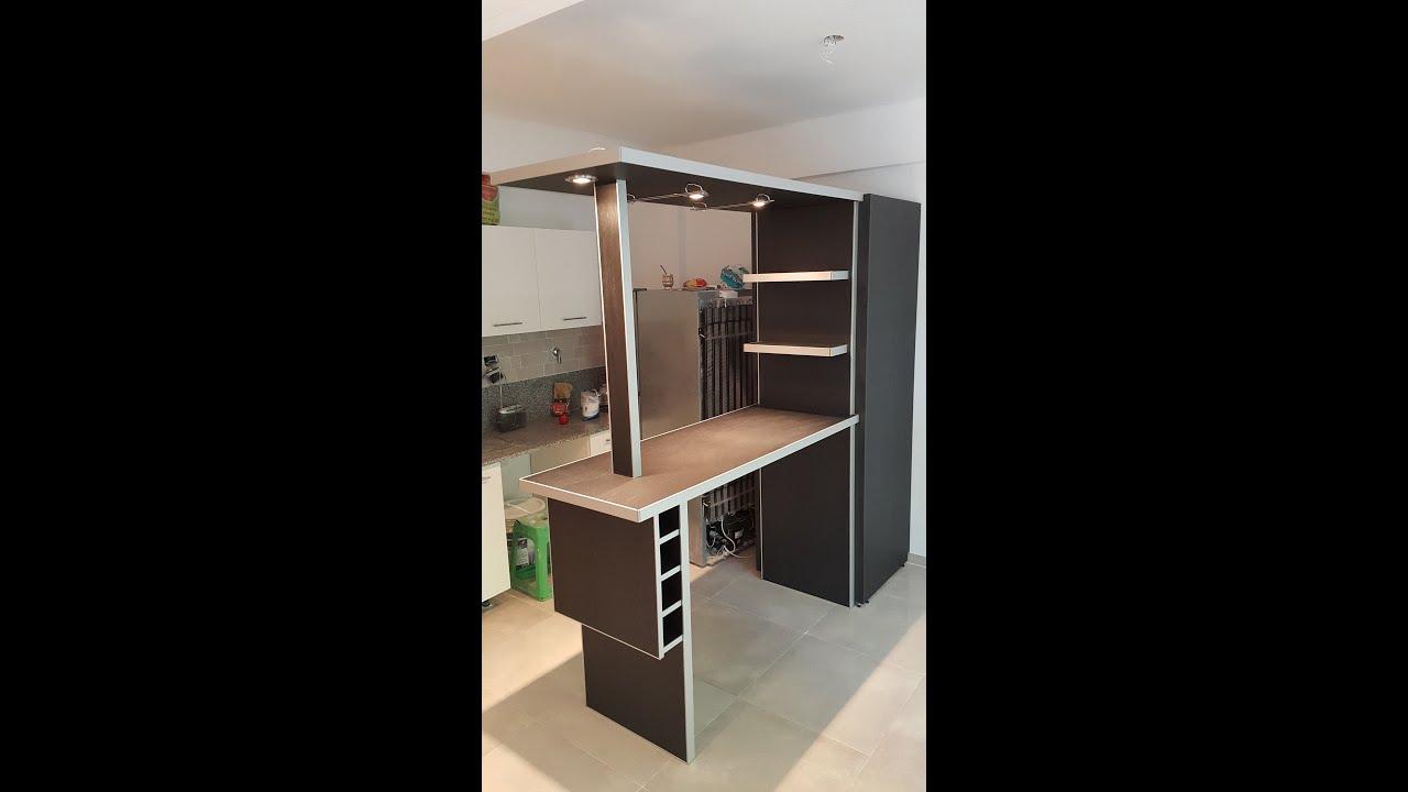 Separador de ambientes cubre heladera fabrica te 155 for Disena tu cocina integral online