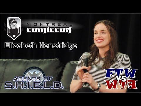Elizabeth Henstridge  Agents of S.H.I.E.L.D.  Montreal ComicCon  Panel