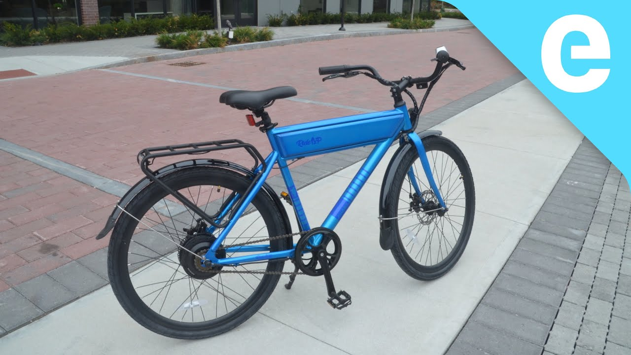 Review: $949 Ride1Up Roadster Ghost electric bicycle