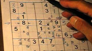 Sudoku Expert - Identifying Hidden Pairs