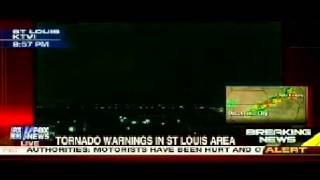 tornadoes touch down in saint louis missouri lots of damage reported