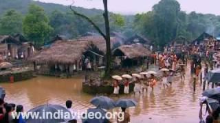 Temple Festival Akkare Kottiyoor Siva temple Kannur River Bavali