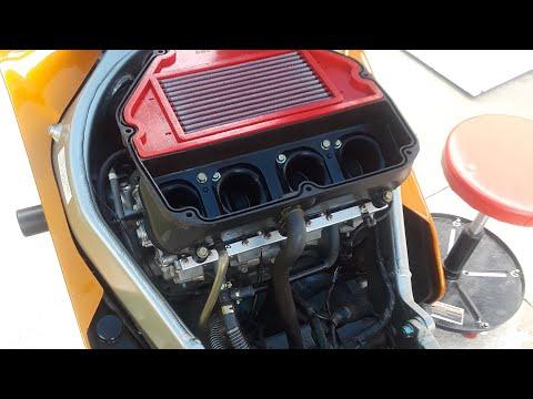 ZX9R Rescue Episode 2 - Dynojet Stage 1 Jet Kit, KLEEN Air Mod