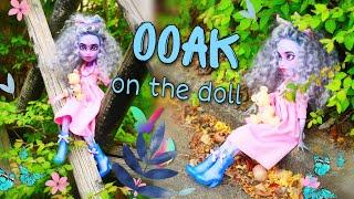 Repaint doll Monster high cute OOAK Twyla Haunted custom