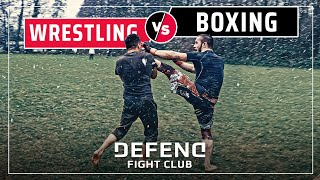 WRESTLING vs. BOXING | MMA-Streetfight | DFC