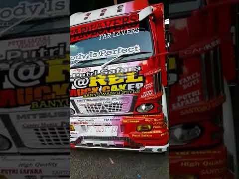 Keren!!!! truck Banyuwangi......     Santoso putra karosaires