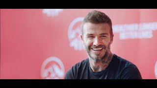 AIA Healthy Living at Home with David Beckham