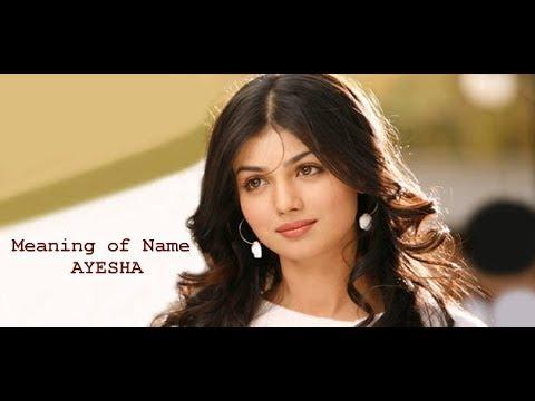 Meaning of Name Ayesha