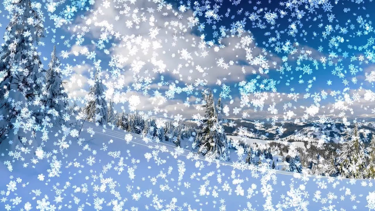 Snowy desktop 3d live wallpaper and screensaver youtube - Free screensavers snowflakes falling ...