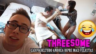 UNA COSA A TRE con Max Felicitas e Andrea Diprè - VLOG