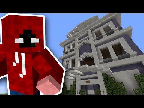Minecraft | Vi Bygger En By | Fancy Pancy Cafe | Ep 2