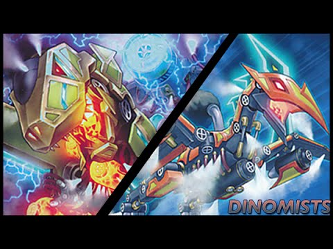 1st. Place local tournament Deck Profile. Dinomist Deck