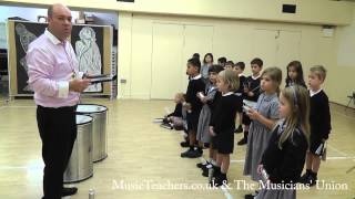 Primary Music Lesson: Rhythmically Speaking: 11 Call and Response