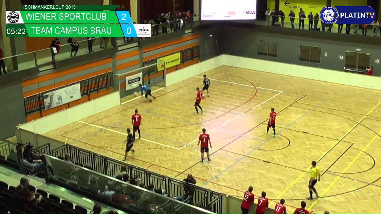 Tor Wiener Sportclub Team Campus Bräu Am 27122015 1734 Youtube
