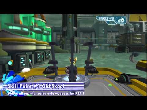 Ratchet & Clank 2 (HD) - All Platinum Bolts & Skill Points (Dobbo)