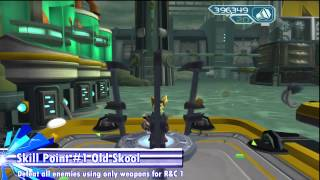 Ratchet & Clank 2 (HD) - All Platinum Bolts & Skill Points (Dobbo)