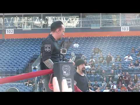 Volbeat - Seal The Deal - Sports Authority Field - Denver - 6-7-2017