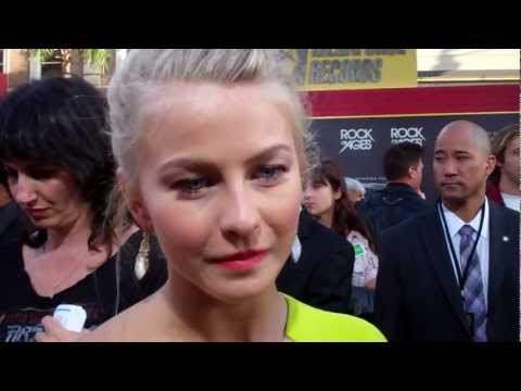 "Julianne Hough at the ""Rock of Ages"" premiere"