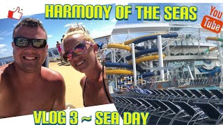 Harmony Of The Seas Vlog 3 | Exploring The Ship, Speciality Dine, Ice Skating, and The Fine Line!