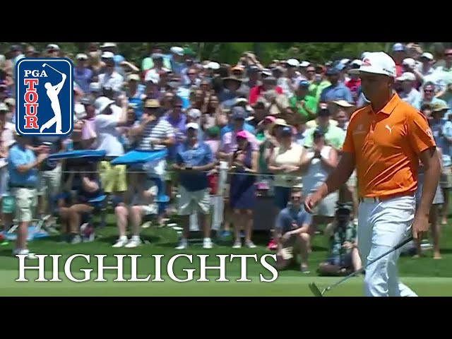 Rickie Fowler's 76-foot eagle putt at Wells Fargo