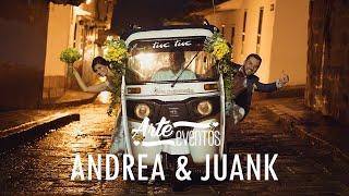 Arte Eventos - Matrimonio Barichara Andrea y Juank - Bodas espectaculares