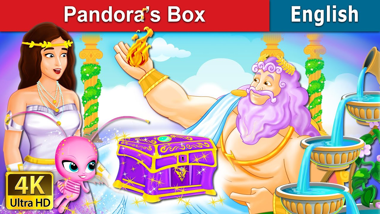 Pandora's Box Story in English | Stories for Teenagers | English Fairy Tales