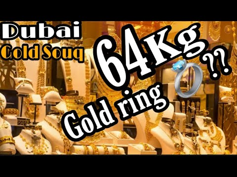 Dubai Gold Souq || Biggest Gold Market || سوق الذهب دبي