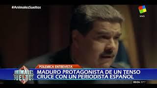 Un periodista español incomodó a Maduro cuando se refirió al costo de los pañales