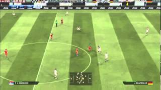 PES 2015 Gameplay: Germany vs. Serbia [HD] [PC] [SRB]