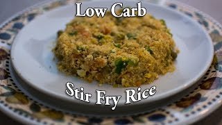 easy tasty low carb fried rice keto recipe 4