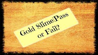 #slime #slimeasmr                                                          Gold Slime |Pass or Fail?