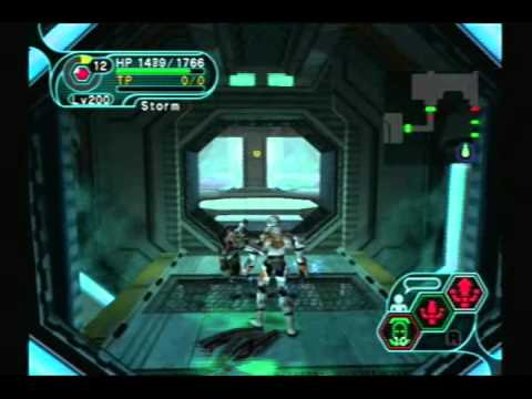 PSO Gameplay: Seabed Upper Level