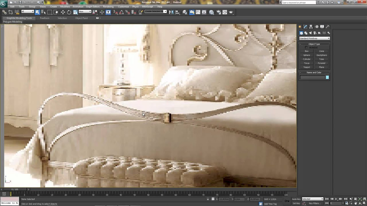 Background image 3ds max viewport - High Quality Bitmap In Viewport Background 3dsmax 2012 Only Nitrous