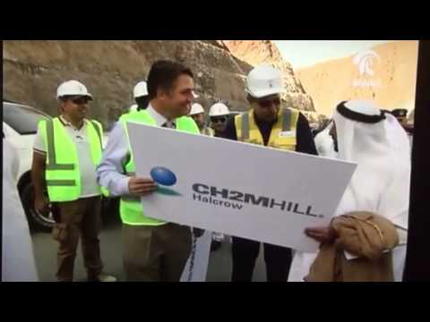 Sharjah Ruler's Site Visit of GENERAL MECHANIC tunnel project in Shis to Khorfakkan