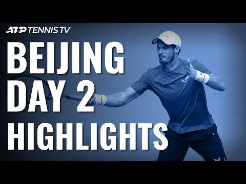 Murray Continues Comeback; Thiem & Tsitsipas Advance | Beijing 2019 Highlights Day 2