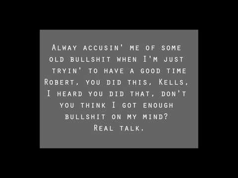 R. Kelly - Real Talk (LEGIT KARAOKE VERSION)
