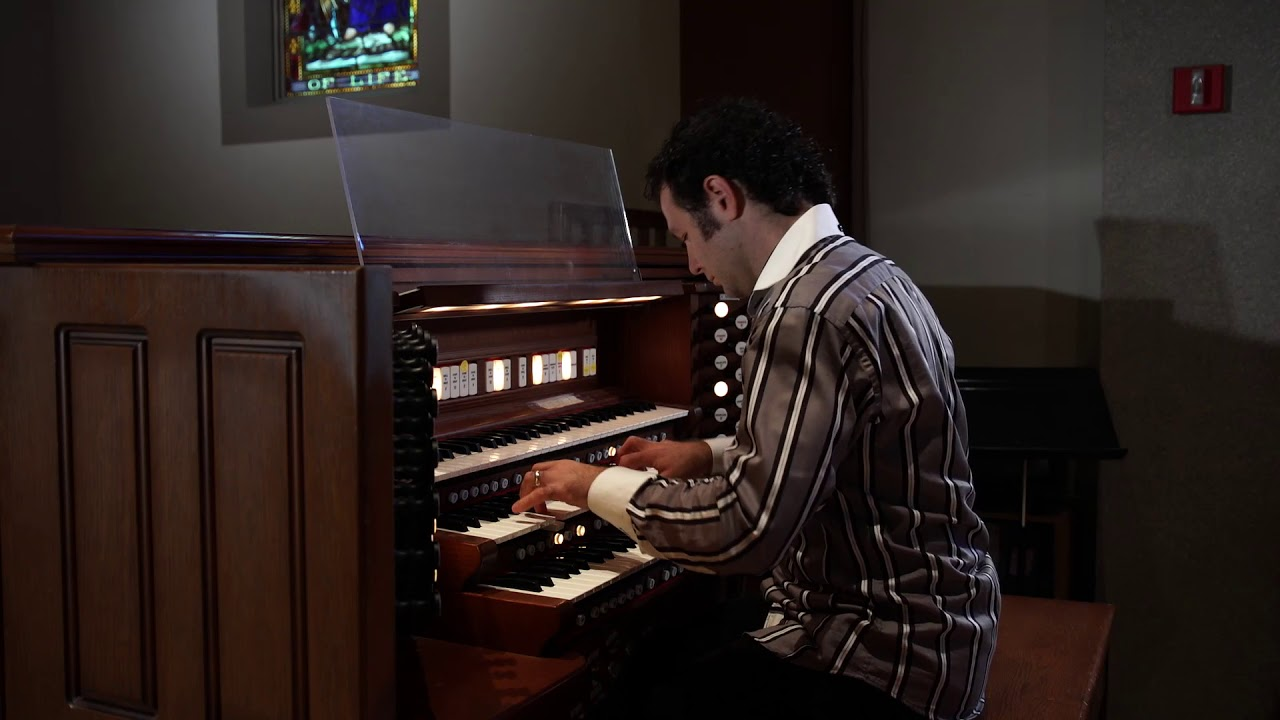 Wedding March Philipp Petkov Organ by NY Music Entertainment