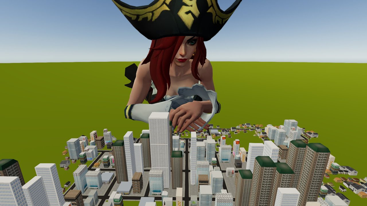 Download Giantess Miss Fortune Parte 1 [SIZEBOX]