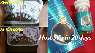 I lost 5Kg in 20 days - Slimina Weight Loss Capsule Review - Tagalog