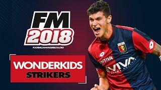 Football Manager 2018 Wonderkids | Top 20 Best Strikers