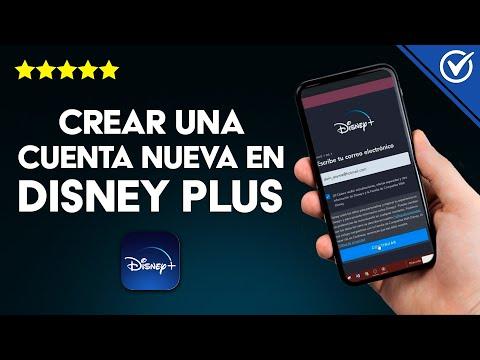 Como Registrarse o Crear una Cuenta Nueva de Disney Plus y Suscribirse paso a paso
