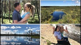 Влог #9: Путешествие по Эстонии. Болота Виру, водопад Ягала, веганскаое кафе