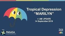 "Press Briefing: Tropical Depression ""MARILYNPH"" Saturday, 11AM September 14, 2019"